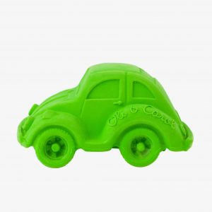 Oli and Carol Small Beetle Car Green (plastic in box hence price)
