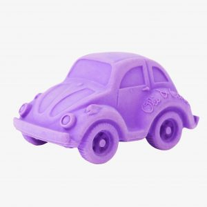 Oli and Carol Small Beetle Car Purple (plastic in box hence price)