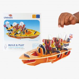 Playpress licenced RNLI Lifebat Pop Out Model
