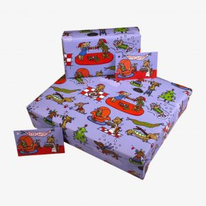 Re-Wrapped Kids Christmas Wrapping Paper – Sausage Dog