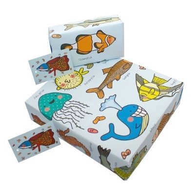 eco wrapping paper