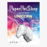 Paper Pet Shop Unicorn Head