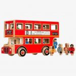 Wooden London Bus Toy – Lanka Kade Deluxe 16 People