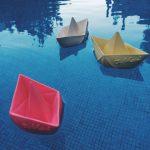 Oli and Carol Origami Boat – Pink