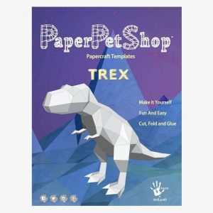 Paper Pet Shop 3D T Rex