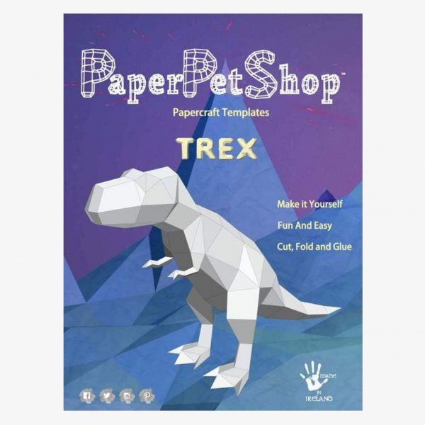 Paper pet shop T Rex