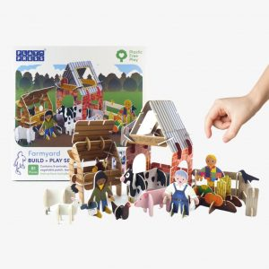 NEW Playpress Farmyard Pop Out Play Set