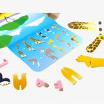 NEW Playpress Savannah Animals Pop Out Play Set