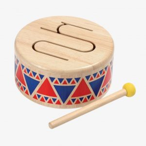 Plan Toys Solid Drum – Colourful