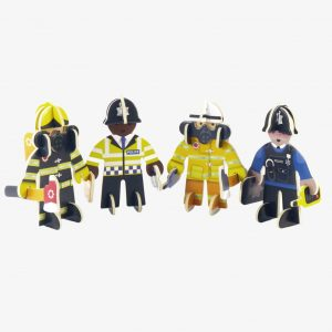 NEW Playpress Rescue Team Pop Out Play Set