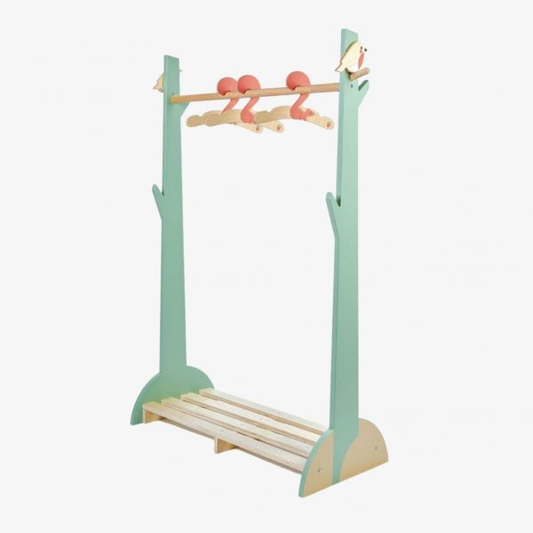 Tender leaf forest clothes rail