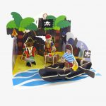 Playpress Pirate Island Pop Out Playset