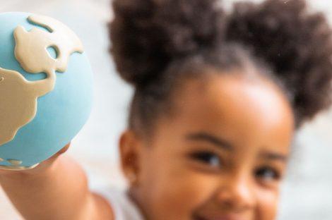 eco friendly toys - world ball