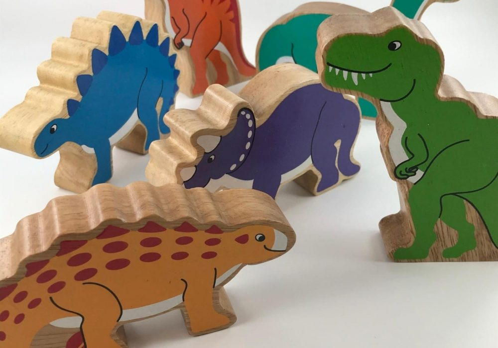 eco friendly toys - dinosaurs